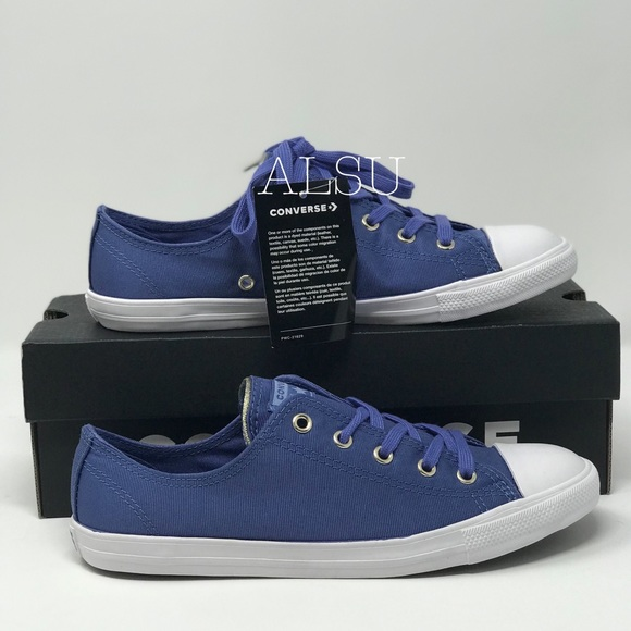 doce Volver a llamar Repetido  Converse Shoes | Converse Ctas Dainty Washed Indigo Blue W Authent |  Poshmark